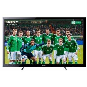 Sony Bravia KDL32HX755 80 cm (32 Zoll) 3D LED-Backlight-Fernseher, Energieeffizienzklasse B (Full-HD, Motionflow XR 400Hz, DVB-T2/C2/S2, Internet TV) schwarz
