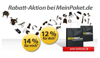 image170 Für Newsletterabonnenten: 14% Rabatt bei Meinpaket.de