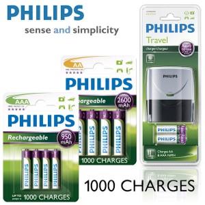 Philips Reise-Ladegerät