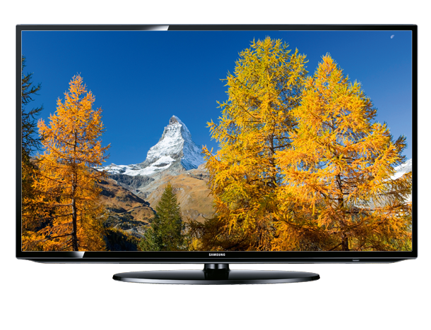 samsung ue46eh5200 front Samsung UE46EH5200 116 cm (46 Zoll) LED Backlight Fernseher, Energieeffizienzklasse A+ (Full HD, 50Hz CMR, DVB T/C/S2, SmartTV) für 555€