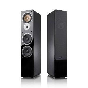 Teufel Ultima 40 Schwarz Stereo HiFi-Stand-Lautsprecher - Dreiweg-Aufbau (Paar)
