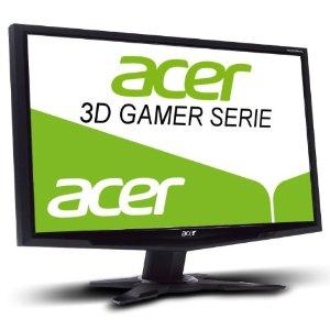 41ceo9tdihl. aa300 4 *Schnell* Acer (24 Zoll) 3D LED Monitor (VGA, DVI, HDMI, 120 Hz, 2ms Reaktionszeit) mit 3D Shutterbrille für 199€ (Vergleich 299€)