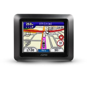 Garmin zumo 210 CE Motorrad-Navigationsgerät (8,9 cm (3,5 Zoll) Display, Zentraleuropa 22 Länder, wasserdicht IPX-7, Bluetooth, Text-to-Speech)