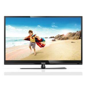 Philips 32PFL3807K/02 81 cm (32 Zoll) LED-Backlight-Fernseher, Energieeffizienzklasse A (Full-HD, 100Hz PMR, DVB-C/T/S, CI+, Smart TV) schwarz
