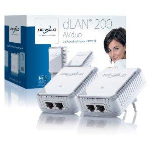 Devolo dLAN 200 AVduo Starter Kit (Netzwerk aus der Steckdose)