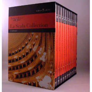 51iq4dnbsal. aa300  La Scala Collection   Teatro alla Scala [12 DVDs] für 16,60€