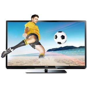 Philips 47PFL4307K 119 cm (47 Zoll) 3D LED-Backlight-Fernseher, Energieeffizienzklasse A+ (Full-HD, 200Hz PMR, DVB-T/C/S2, CI+, SmartTV) schwarz