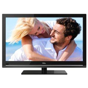 TCL L24D3300FC 61 cm (24 Zoll) LED-Backlight-Fernseher, Energieeffizienzklasse A (Full-HD, DVB-C/T, CI+, 2x HDMI, USB 2.0, Hotelmodus) schwarz