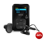 SanDisk Sansa Clip+ 8GB MP3-Player (schwarz)