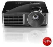 BenQ MS513 DLP-Projektor (Kontrast 10000:1, 2700 ANSI Lumen, SVGA 800 x 600 Pixel) HDMI) schwarz