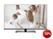 Toshiba 46TL963G 116,8 cm (46 Zoll) 3D LED-Backlight-Fernseher, Energieeffizienzklasse A+ (Full-HD, 200Hz AMR, DVB-T/C/S2, CI+, DLNA, Web-TV) silber