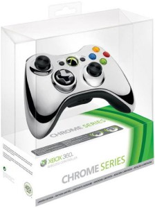 chrome 224x300 Microsoft Xbox 360 Wireless Controller (Limited Chrome Edition) für €34,44