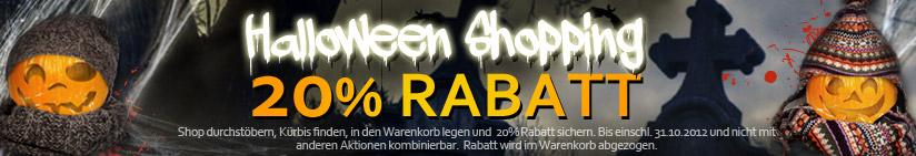 halloween 20121030 de1 Haburi.de: 20% Rabatt auf alle Artikel