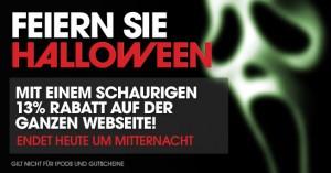 halloween splash 300x157 13 Prozent (Halloween) Rabatt bei WOWHD.de