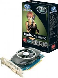 Sapphire Radeon HD6750 Grafikkarte