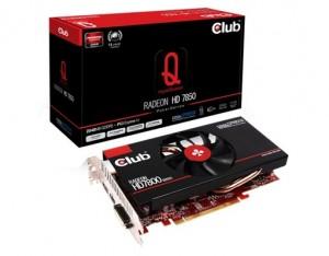 "Club3D Radeon HD7850 ""royalQueen"" (1GB GDDR5)"