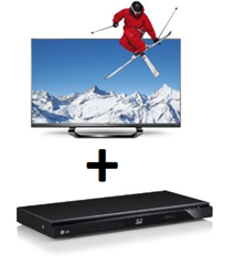 image11 LG 55LM640S 139 cm (55 Zoll) 3D LED Plus Backlight Fernseher (Full HD, 400Hz MCI, DVB T/C/S2, Smart TV) + 3D Blu ray Player für 1249€