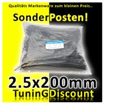 image23 1000 Kabelbinder schwarz (200 x 2,5 mm) für 7,99 Euro