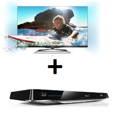 image66 Philips 42PFL6907K (42 Zoll) Ambilight 3D LED Backlight Fernseher  + 3D Blu ray Player für 999€ (Vergleich 1203,94€)
