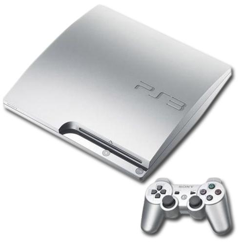 nd 10988 w Sony PlayStation 3 Slim   320 GB in Silber für 199,00€