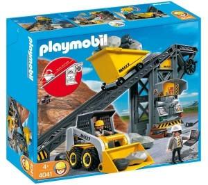 PLAYMOBIL Förderanlage mit Kompaktlader (4041)