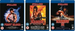 rambo1 300x124 Blu Ray Rambo 1 3 für je €4,24