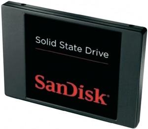 """ssd 300x262 SanDisk 2.5"""" 128GB SSD """"SDSSDP 128G G25"""" (SATA III) für €68,31"""