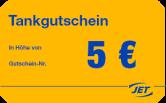 5€ Tankgutschein
