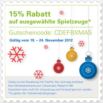 406844 552758244741670 747321660 n eBay: 15% Rabatt auf ausgewählte Spielzeuge bei Zahlung per Paypal
