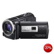 Sony HDR-PJ260VE Full-HD Camcorder (7,5 cm (3 Zoll) LCD-Display, 8 Megapixel, 30x opt. Zoom, 16GB Speicher intern, 29 mm  Weitwinkel) GPS Kartenindex und iAUTO