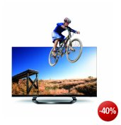LG 42LM640S 107 cm (42 Zoll) Cinema 3D LED Plus Backlight-Fernseher, Energieeffizienzklasse A+ (Full-HD, 400Hz MCI, DVB-T/C/S2, Smart TV) schwarz