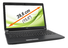 image279 Medion Life (15,6 Zoll) Notebook (Intel Core i3 2350M, 2,3GHz, 4GB RAM, 750GB HDD, DVD, Win 7 HP) für 389€