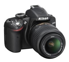 image289 Nikon D3200 SLR Digitalkamera (24 Megapixel, 7,4 cm (2,9 Zoll) Display, Live View, Full HD) inkl. AF S DX 18 55 VR Objektiv für 399€