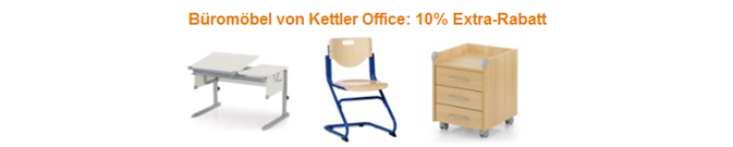 image9 Amazon: 10% Extra Rabatt auf Kettler Office Büromöbel