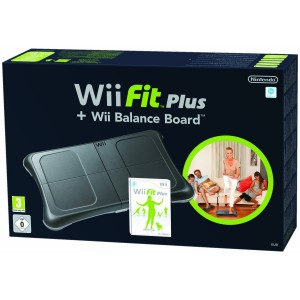 wii fit plus 300x300 NINTENDO Wii Fit Plus Bundle (inkl. Wii Balance Board) für €56,30