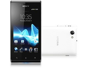 28690656591902 Sony Xperia J Smartphone (10,2 cm (4 Zoll) Touchscreen, Qualcomm, 1GHz, 512MB RAM, 5 Megapixel Kamera, Android 4.0) für 170,05€
