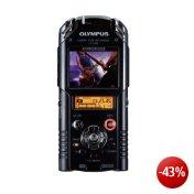 Olympus LS-20M Digitaler PCM- & Full HD Video-Rekorder (inkl. 2GB SD-Karte,SD-/SDHC-Kartenslot, Li-Ionen Akku Li-42B, 24bit/96kHz)