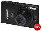 Canon IXUS 240 HS Digitalkamera (16,1 Megapixel, 5-fach opt. Zoom, 8,1 cm (3,2 Zoll) Touch-Display, WiFi, Full-HD) schwarz