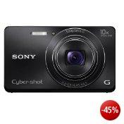 Sony DSC-W690B Cyber-shot Digitalkamera (16,1 Megapixel, 10-fach opt. Zoom, 7,5 cm (3 Zoll) Display, 25mm Weitwinkel, Schwenkpanorama) schwarz
