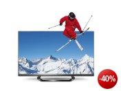 LG 55LM640S 139 cm (55 Zoll) Cinema 3D LED Plus Backlight-Fernseher, Energieeffizienzklasse A+ (Full-HD, 400Hz MCI, DVB-T/C/S2, Smart TV) schwarz