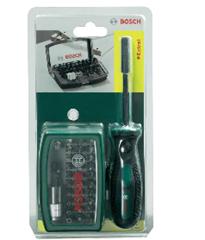 image65 Bosch 32 tlg. Schrauberbit Set + Handschraubendreher für 9,99€