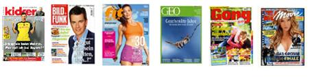 image thumb Die Zeitschriftenangebote in der Übersicht