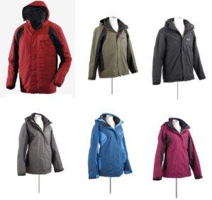 jack wolfskin cold mountain damen und herren doppeljacke 117427 alle farben1 Jack Wolfskin Cold Mountain Doppeljacke für 125€