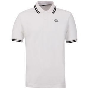 Kappa Men's Lamot Polo - White/Black