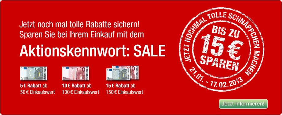 130121 sta m sale Galeria Kaufhof: Verschiedene Gutscheincodes