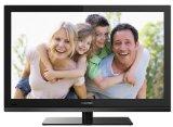 Thomson 24FT4253/G 61 cm (24 Zoll) LED-Backlight-Fernseher, Energieeffizienzklasse A (Full HD, DVB-C/-T, CI+, 2x HDMI, USB 2.0, Hotelmodus) schwarz