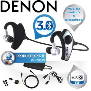 Denon AH-W200 Globe Cruiser Bluetooth 3.0 In-Ears mit integriertem Verstärker