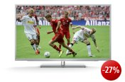 Grundig 42 VLE 9270 SL 107 cm (42 Zoll) 3D LED-Backlight-Fernseher, Energieeffizienzklasse A (Full-HD, 400 Hz PPR, DVB-T/C/S2, Smart Interactive TV) silber