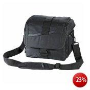 Flashstar SLR Kameratasche (ideal für Spiegelreflexkameras), schwarz, mit Komfortöffnung und Regenschutz