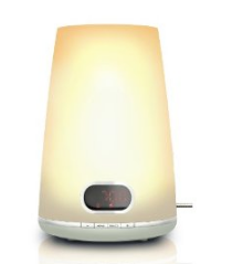 image41 Philips HF3470/01 Wake up Light inklusiv digitalem FM Radio für 59,88€